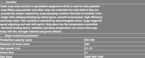XT-500D Soap Plodder